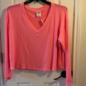 NWT Pink by Victoria secret pink long sleeve shirt